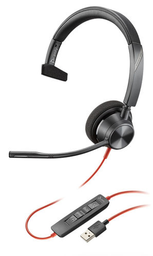 Plantronics Blackwire 3310-M USB-A